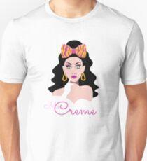 Camiseta unisex Sra. Creme