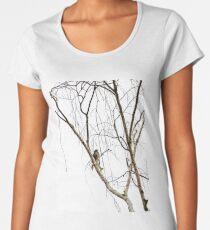 Wattle Bird Premium Scoop T-Shirt