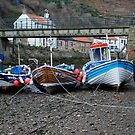 Staithes Fishing Boats by dougie1