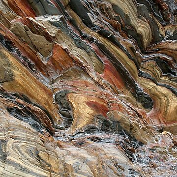 Rock swirls in nature by FranWest