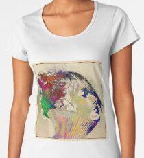 Colorful portrait Women's Premium T-Shirt