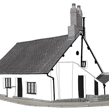 Sir John Barrow's Cottage by Colin-Bentham