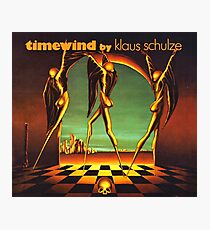 Klaus Schulze - Zeitwind Fotodruck