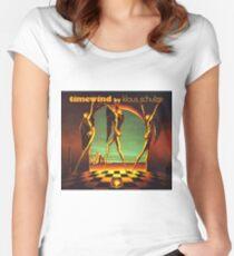 Klaus Schulze - Zeitwind Tailliertes Rundhals-Shirt