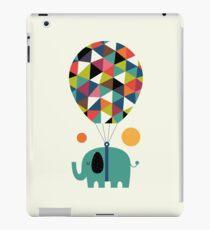 Fliege hoch und träume groß iPad-Hülle & Klebefolie