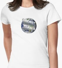 The Worst Writer in the World Women's Fitted T-Shirt