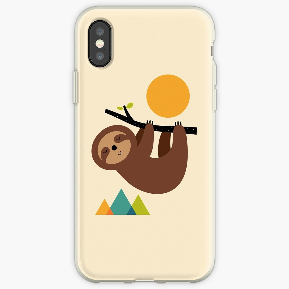 Keep Calm And Live Slow iPhone Case & Cover