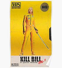 Töte Bill VHS Poster