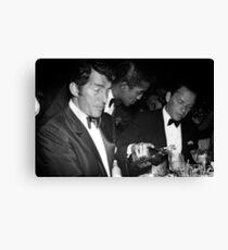 Frank Sinatra Drank American Whiskey His Way Canvas Print