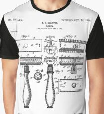 Gillette Patent 1904 Graphic T-Shirt