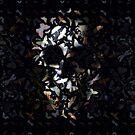 Butterfly Skull by Ali Gulec
