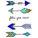 Follow Your Arrow (Wherever it Points) by teekastreasures