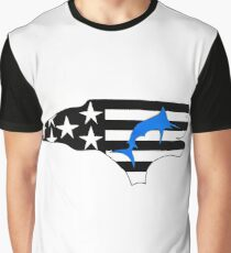 NC Blue Marlin  Graphic T-Shirt