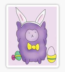 Easter Alpaca  Sticker