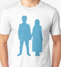 Songs of Experience Lyric Silhouette Blue  Unisex T-Shirt