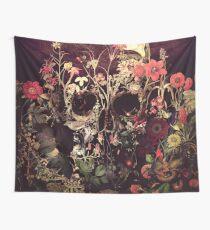 Bloom Skull Wall Tapestry