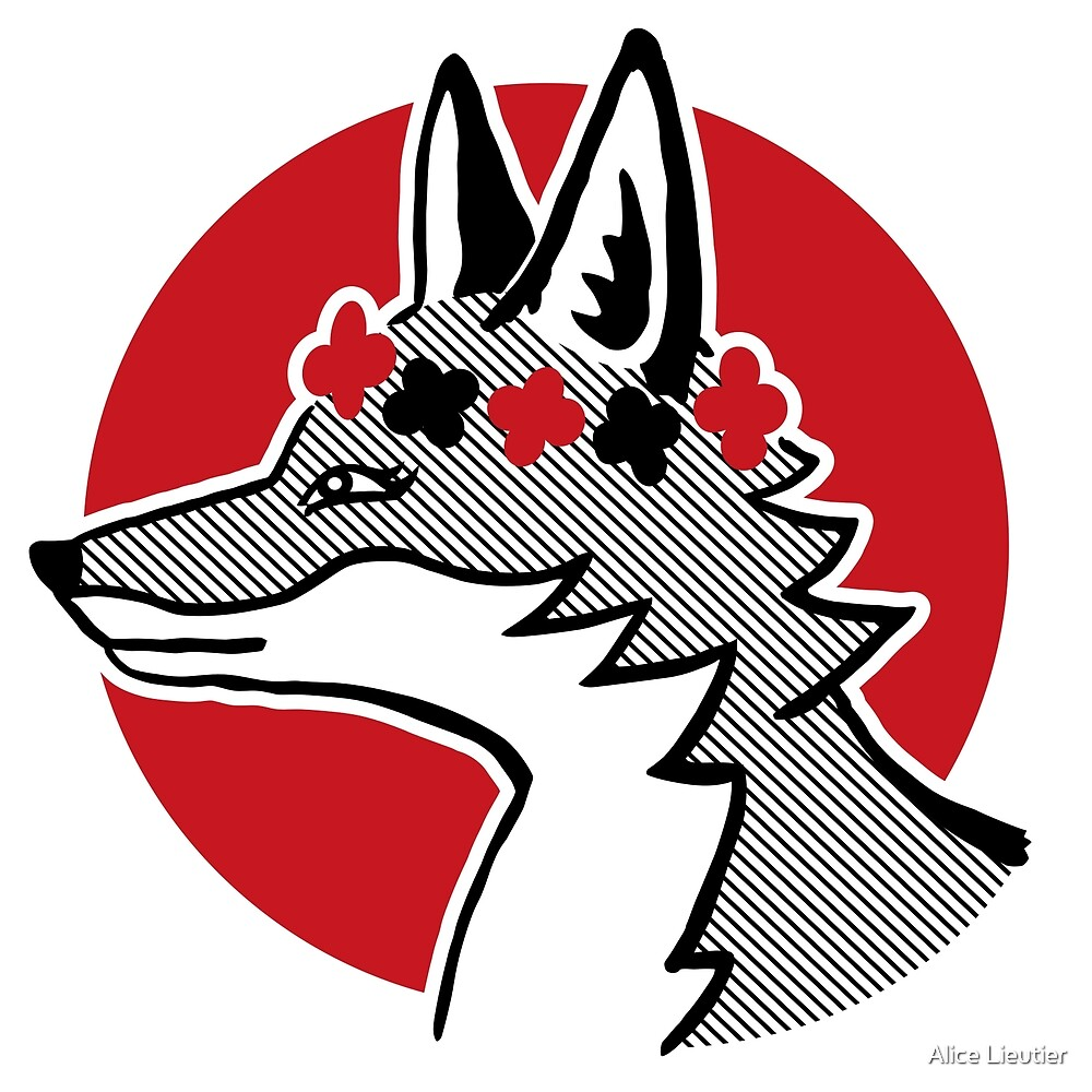 Fox - original by Alice Lieutier