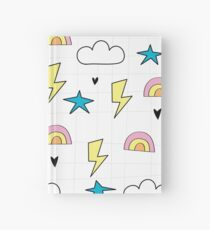 RAINBOWS AND LIGHTNING Hardcover Journal