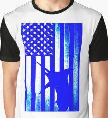 US Blue Marlin  Graphic T-Shirt