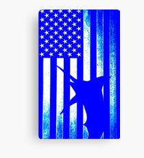 US Blue Marlin  Canvas Print