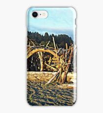 Play day on the beach iPhone Case/Skin