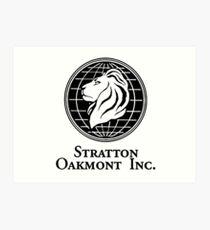 Stratton Oakmont Inc. Kunstdruck