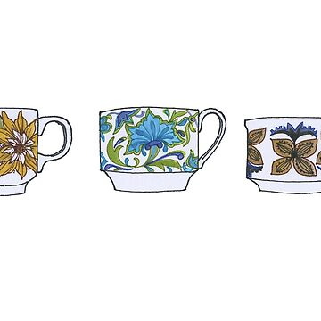 Tea Cups by thethinks