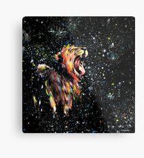 the lion sleeps no more Metal Print