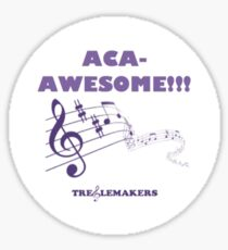 Aca Awesome Sticker