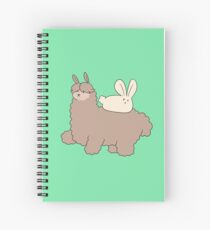 Cuaderno de espiral Fluffy Alpaca and Bunny