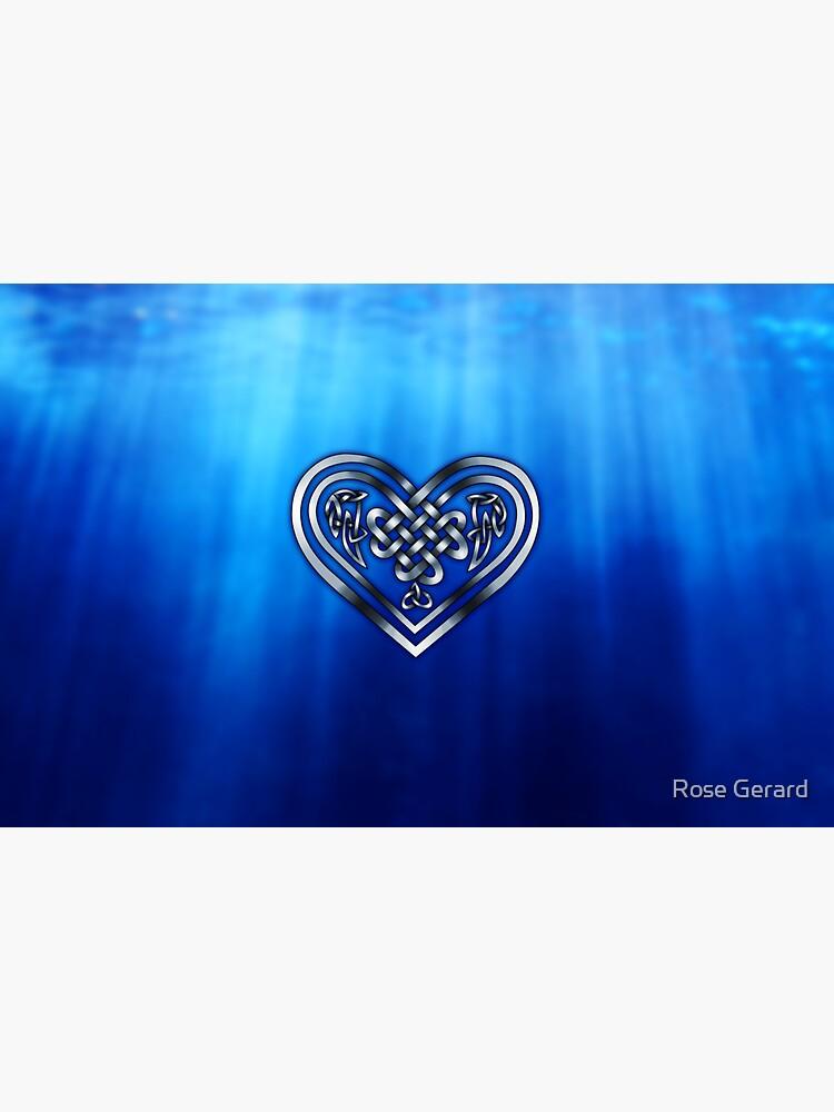 Celtic Heart - Deep Blue Sea by arkadyrose