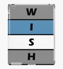 wish iPad Case/Skin