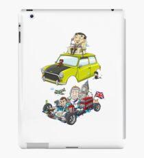 Cartoon UK Great Britain Car Culture iPad Case/Skin