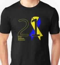 Down Syndrome -- Big 21 Unisex T-Shirt
