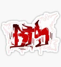 BTS N.O. Graffiti Sticker