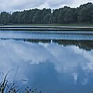 Clouds Reflecting in Water by Buckwhite