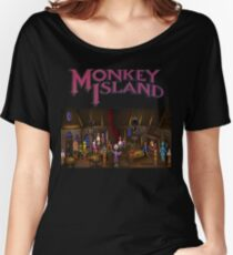 Monkey island  Women's Relaxed Fit T-Shirt