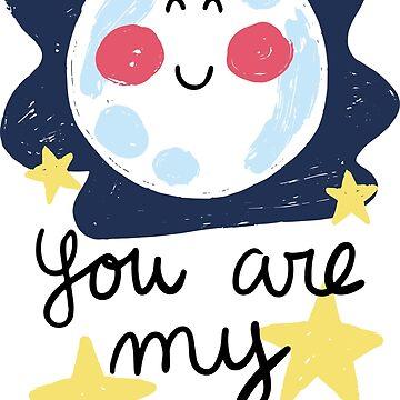 You are my moon by JoanaJuhe-Laju