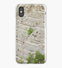 Relief and stone of cliff rocks iPhone Case/Skin