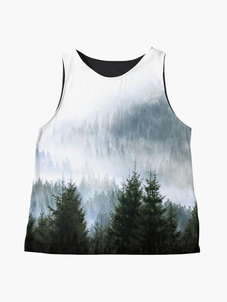Alternative Ansicht von Minimalistischer Wald Fotoabzug Ärmelloses Top