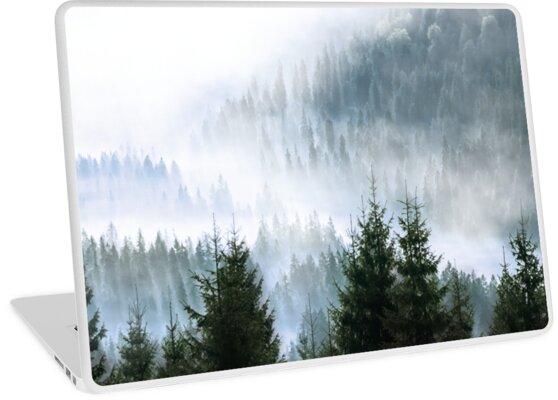 Minimalistischer Wald Fotoabzug von Fangpunk