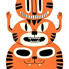Totem Cat by jackteagle
