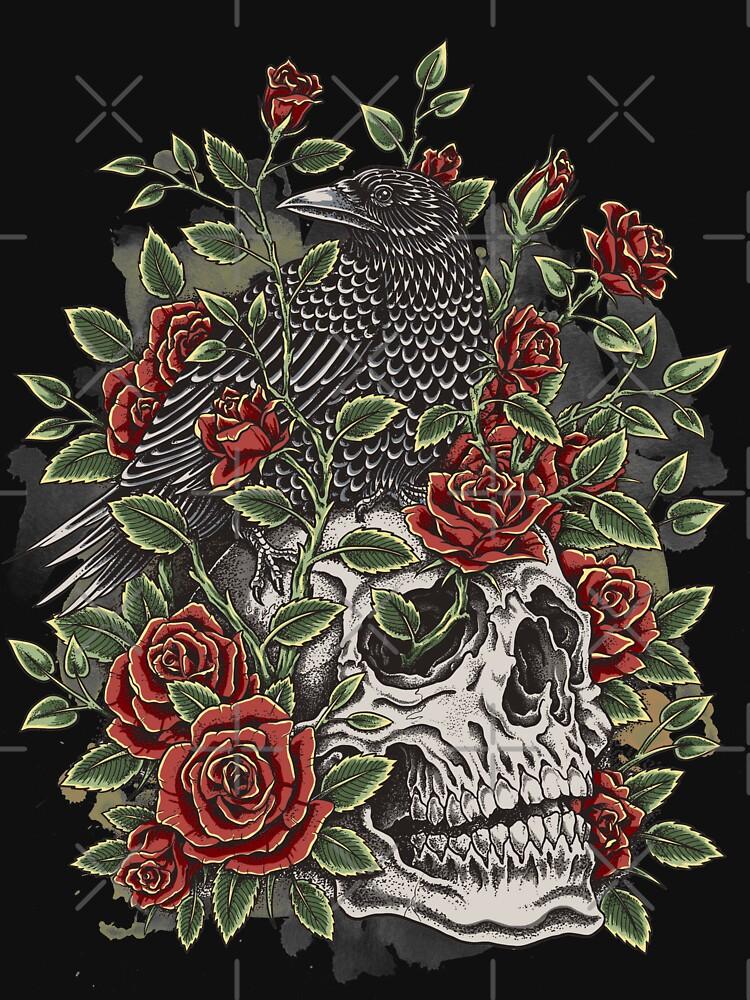 Cráneo floral de HINKLE