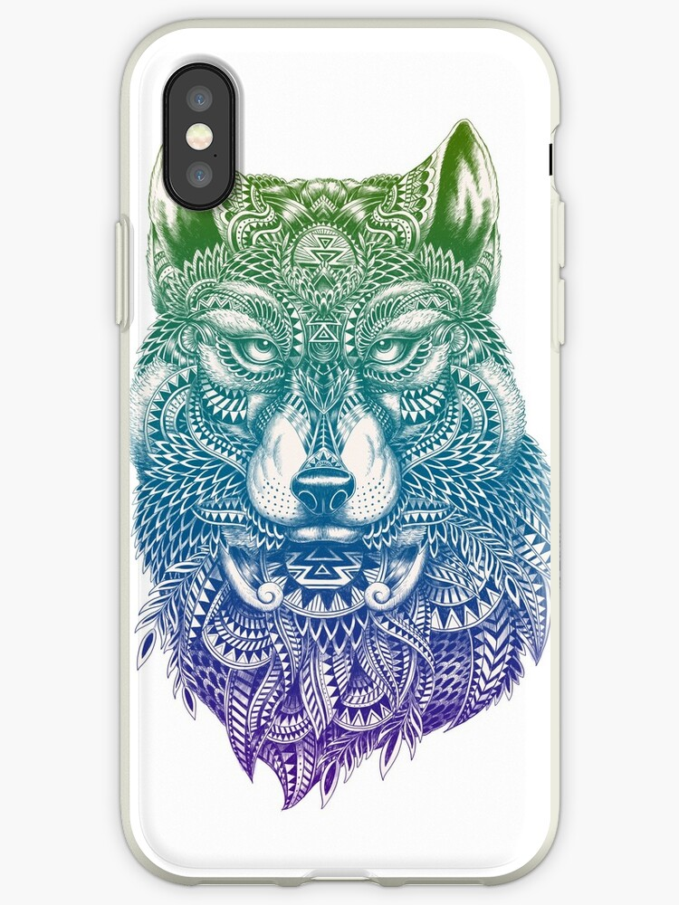 Abstract Wolf by HINKLE