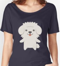 Bichon Frise Women's Relaxed Fit T-Shirt