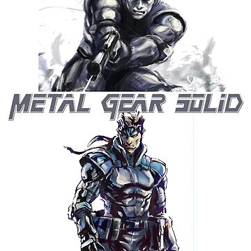 Solid Snake by deathlesseye