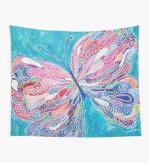 Fluttering Jewel Wall Tapestry