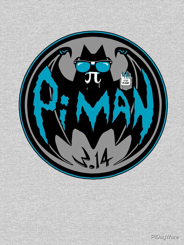Pi Man Bat Geek Pi Day Unisex T Shirt By Pidayware Redbubble