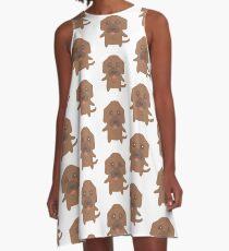 Bluthund A-Linien Kleid