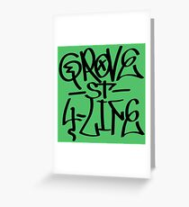 Grove St 4 Life Greeting Card